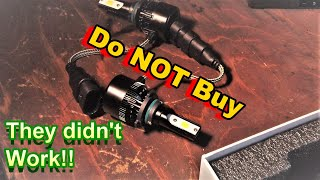 Download *WATCH THIS* Before Buying L.E.D HEADLIGHT BULBS *BUYER BEWARE* Video