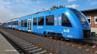 Download CORADIA iLINT | historic premiere ride of world's first hydrogen powered train | 4K-Quality-Video Video