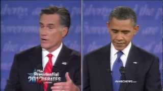 Download Romney and Obama Debate Regulation of Wall Street, Economic Crisis, Dodd Frank Video