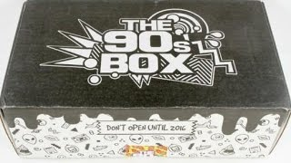 Download The 90's Box March 2016 Subscription Box Unboxing & $5 Coupon #the90sbox Video