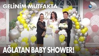 Download Sürpriz Baby Shower Melike'yi ağlattı! Gelinim Mutfakta 405. Bölüm Video