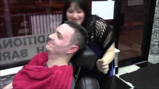 Download Nathan123 barber shop pamper - haircut / shave plus i get pampered too! Video