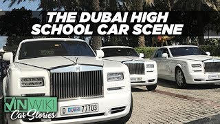 Download How insane is the high school car scene in Dubai? Video