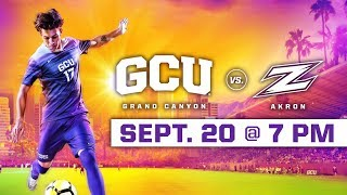 Download GCU Men's Soccer vs. Akron Sep 20, 2018 Video
