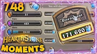 Download It's The Button (Again)!! Also, SHUDDERWOCK! | Hearthstone Daily Moments Ep. 748 Video