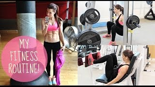 Download MY GYM ROUTINE | LEGS, BUTT AND ABS! Video