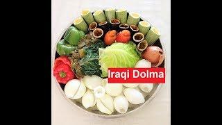 Download Iraqi Dolma /Chaldean/Assyrian/ الدولمة العراقية / Stuffed Vegetables || Recipe #205 Video