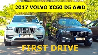 Download 2017 Volvo XC60 D5 AWD, first drive Video