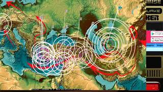 Download 10/27/2017 - Large Earthquake Warning for West Pacific - West Coast USA on watch near Oregon Video