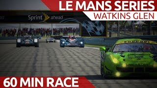 Download iRacing Le Mans Series 60 minutes of avoiding rocket ships! Video