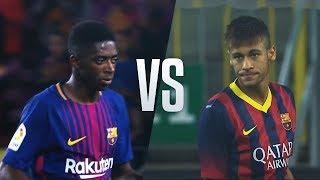 Download Ousmane Dembele vs Neymar Jr - Who Did The Best Barca Debut? Video