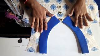 Download front neck designs cutting and stitching in hindi Video