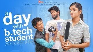 Download A Day With B.tech Student | Fidaa Spoof | Chai Bisket Video