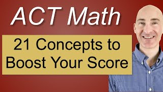 Download ACT Math 21 Concepts to Boost Your Score Video