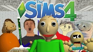 Download The Sims 4: Baldi's Basics in Education and Learning (CAS, School Build, 7/7 Notebooks) Video