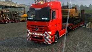 Download EURO TRUCK SIMULATOR 2 Mercedes Actros Sound Video