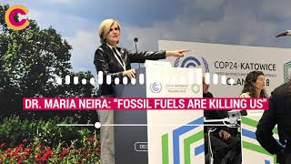 Download ″Fossil fuels are killing us″ - Dr Maria Neira at COP24 \\ Climate Council Video