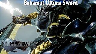 Download Final Fantasy XV - Bahamut Ultima Sword Video