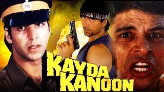 Download Kayda Kanoon (1993) Full Hindi Movie | Akshay Kumar, Ashwini Bhave, Sudesh Berry Video