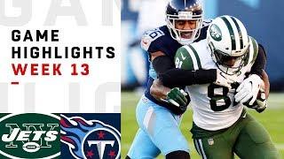 Download Jets vs. Titans Week 13 Highlights | NFL 2018 Video