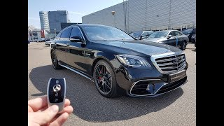Download INSIDE the Mercedes-AMG S63 S Class 2017 | New In Depth Review Interior Exterior SOUND Video