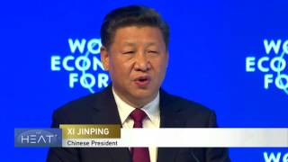 Download The Heat: Chinese President Xi speaks at World Economic Forum in Davos PT 1 Video