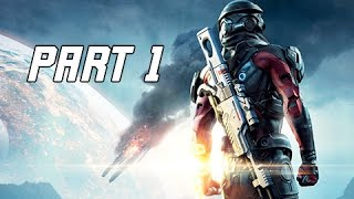 Download Mass Effect Andromeda Walkthrough Part 1 - PATHFINDER (PC Ultra Let's Play Commentary) Video
