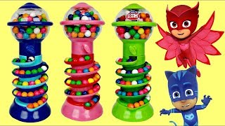 Download GUMBALL BANK Candy Dispenser with PJ MASKS Video
