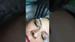 Download Удаление татуировки ремувером. Салон Елены Lange, Тюмень Video