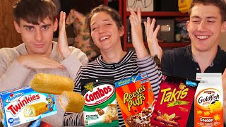 Download British People Try Twinkies for the First Time!! Video