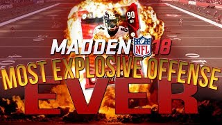 Download Madden 18 Mut Champions :: MOST EXPLOSIVE OFFENSE EVER! :: Madden 18 Ultimate Team Online Gameplay Video
