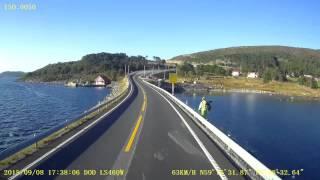 Download Stavanger- Bergen a sunny afternoon Video