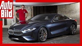Download BMW 8er Concept (2017) Sitzprobe/Erste Details/Erklärung/Sound Video