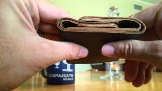 Download Saddleback Leather New Trifold Wallet Unboxing Video