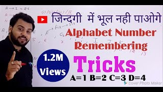 Download Alphabet & Number Remembering Trick and opposite Alphabets Letters amazing short trick    Video