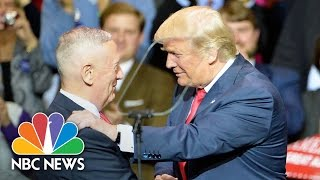 Download Donald Trump Formally Announces Nomination Of James Mattis As Secretary Of Defense | NBC News Video