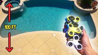 Download CAN FIDGET SPINNERS PROTECT MY IPHONE FROM 100FT DROP?! Video