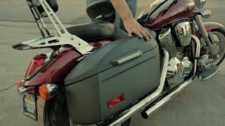 Mutazu hard saddlebags 2007 Honda VTX 1300r Free Download Video MP4