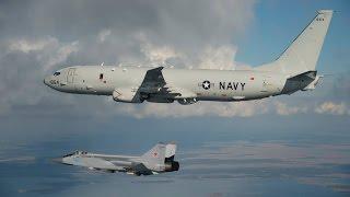 Download MIG-31 intercepta un avión espia Boeing P-8 Poseidon.Abril (2016). Video