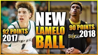 Download The New LAMELO BALL Almost Broke His High School Record! Video