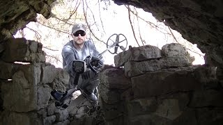 Download Abandoned Outlaw Hideout & Ghost Town Silver Metal Detecting Video
