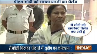 Download Mamata Banerjee Lashes out at Modi Govt, Challenges PM Modi to Arrest Her Video