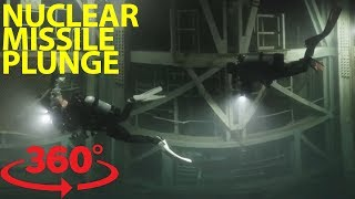 Download Fearless scuba divers explore abandoned nuclear missile silo in VR Video