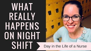 Download 12 HOUR NIGHT SHIFT | Day In The Life of a Nurse Video