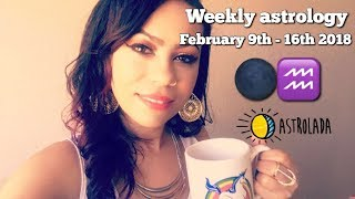 Download Weekly Astrology Forecast for Feb 9th-16th 2018 & Celebrity ″Coffee Talk″ W/Astrologer April! Video
