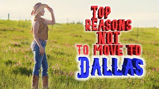 Download Top 10 reasons NOT to move to Dallas, Texas. Re-upload. Had to make a fix. Video