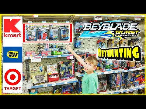 Beyblade Burst Toy Hunting at Kmart / Best Buy / Target - Beyhunting for Hasbro Beyblades