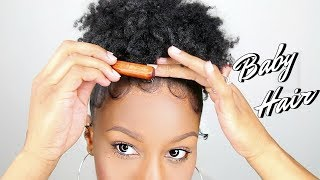 Download How To Slay & Lay Your Baby Hair + High Puff! Edges Tutorial! Video