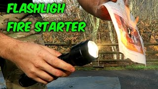 Download Flashlight Fire Starter Video