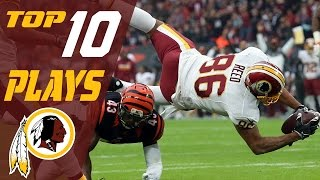 Download Redskins Top 10 Plays of the 2016 Season | NFL Highlights Video
